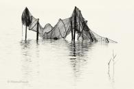 wasser-Fisch-Reuse-Silhouette-black-white-schwarz-weiss-silhouette-minimalismus-minimalistisch-minimalistic-fish-trap-netz-wasser-waterA_NIK500_0924sw
